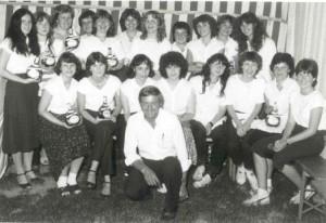 Bedienungen des Weinfestes 1978