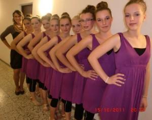 """Jazztanzgruppe """"Las Bailarinas"""" 2011"""